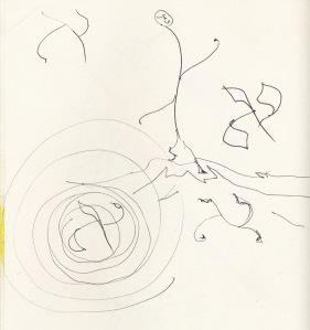 aleph doodle