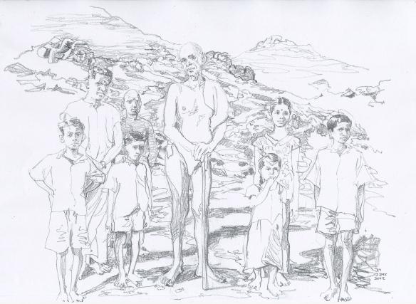 Ramana Maharshi & Arunachala Children