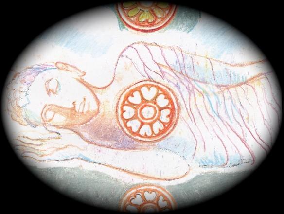 Sacred India Tarot - Buddha's Mahasamadhi
