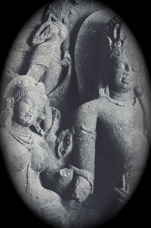 Siva and Parvati - Elephanta