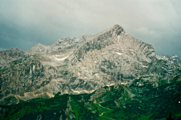 Alpenspitz - a great raw rock mountain in Bavaria