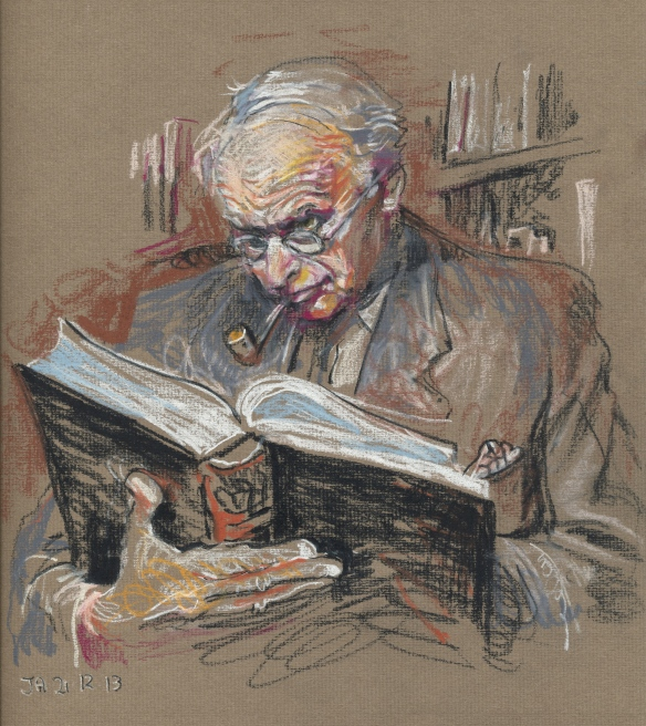 Jung in his Study