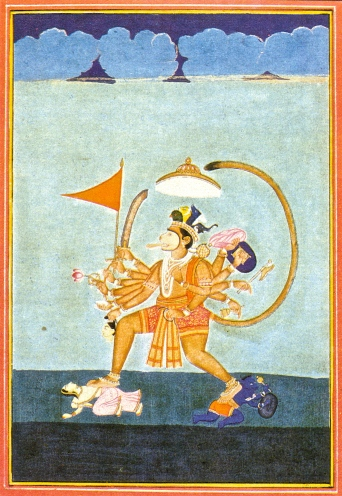 SITA visual reference - Hanuman
