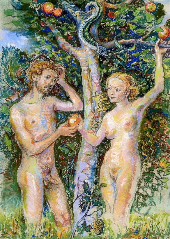 Adam & Eve - garden of eden