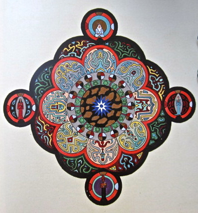 Jung's mandala to the flowering dead