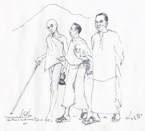 Sages by the holy hill - Ramana, Poonja and devotee