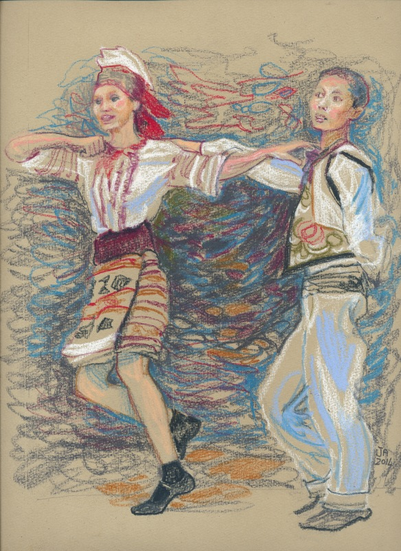 dancing children, ukraine