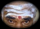 Shaivite Tilak Hindu Shiva Devotee