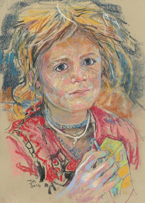 Yazidi child 2