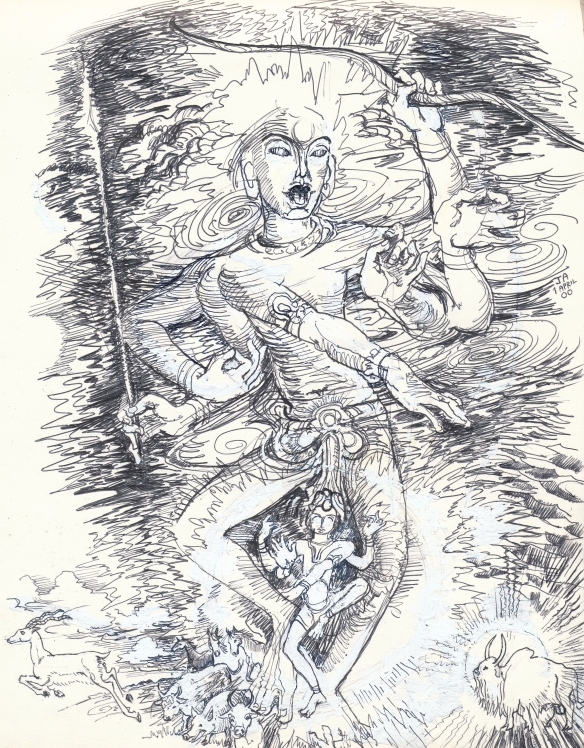 Siva - Rudra the Wild Hunter