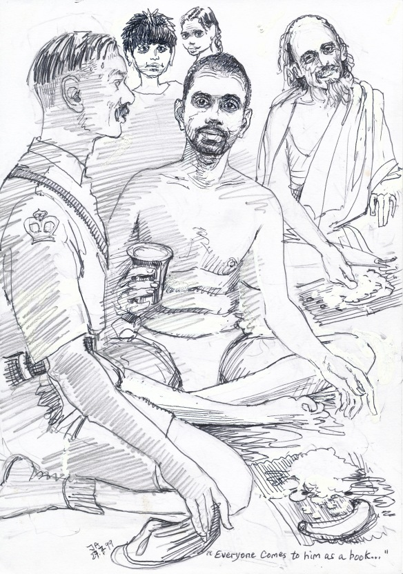Frank Humphries, Ramana and the Muni