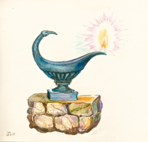 trinosofia bird lamp