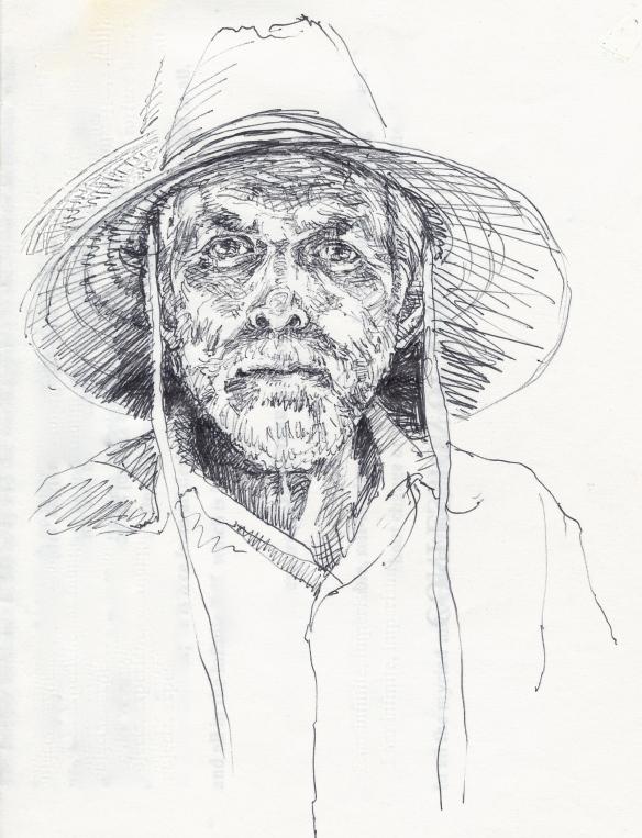 Robert in hat