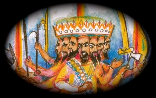 King Ravana