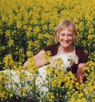 jane in yellow field 2007
