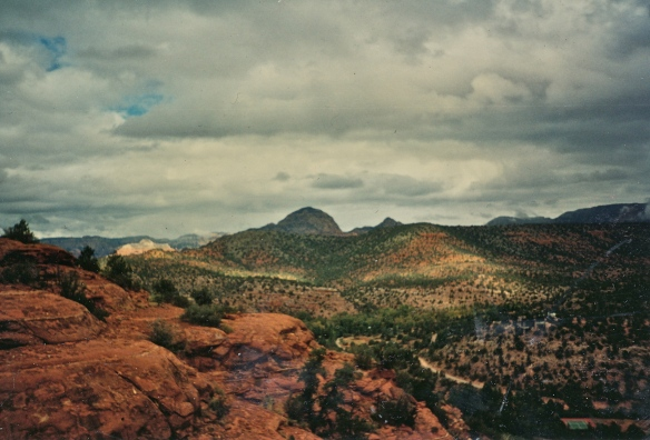 View towards Thunder mountain
