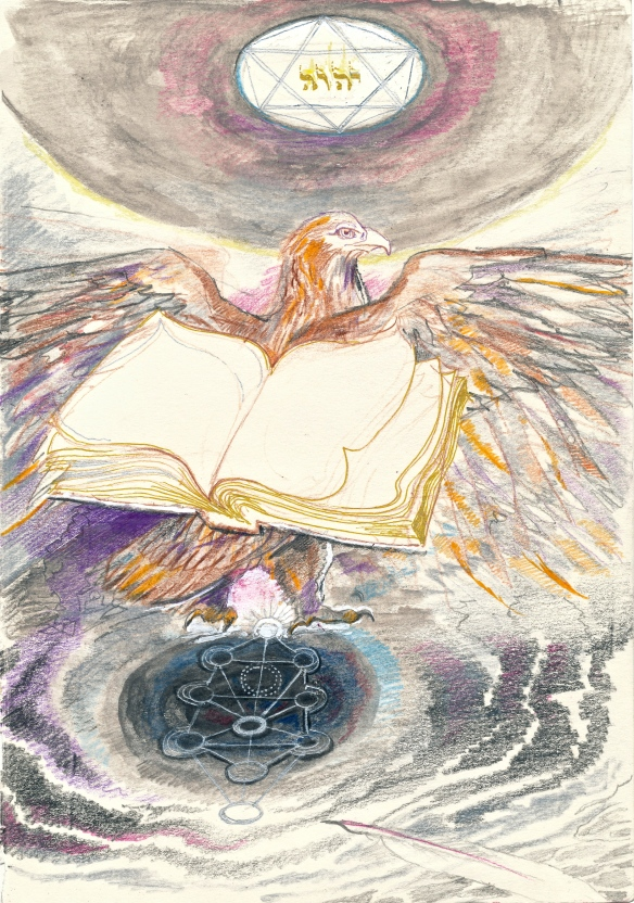 Alchemy - the eagle book in Daat