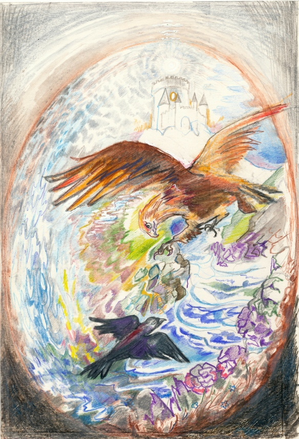 Alchemy - Heleen's story of the little crow and the eagle