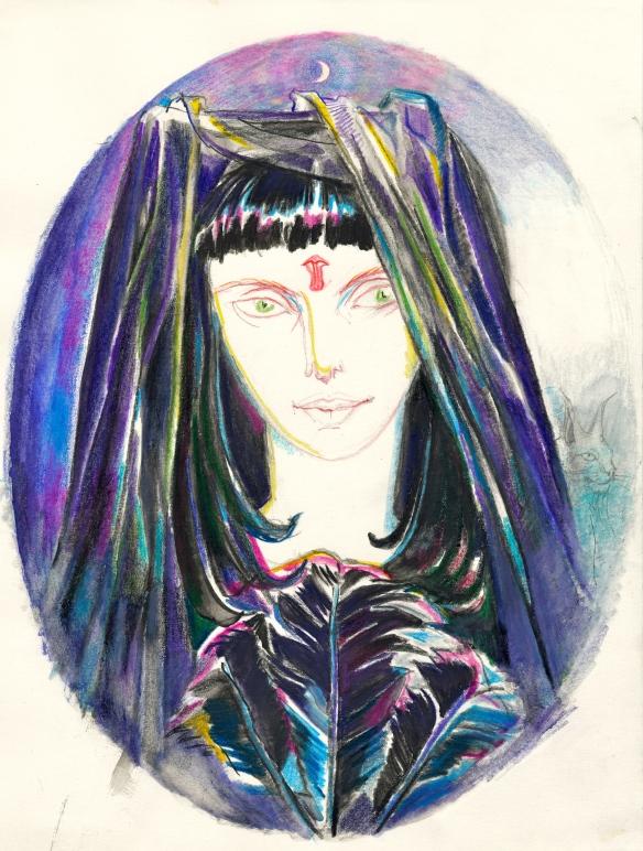 priestess of Black Isis, 2002