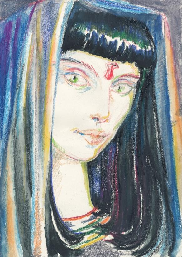 priestess of black isis 3, 2002