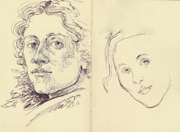 sketch sandro botticelli