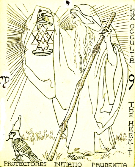 arcanum 9, hermit