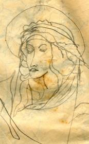 madonna botticelli, 1957.