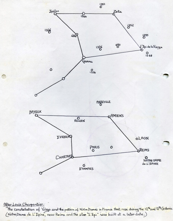 maps of Virgo constellation, stellar and on earth