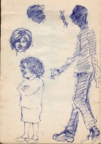 101 pestalozzi sketches - mr and mrs mountain