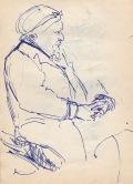 112 pestalozzi sketches - old woman in hastings