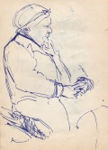 112 pestalozzi sketches - old woman in hastings
