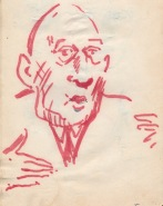 118 pestalozzi sketches - de gaulle