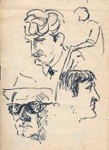 122 pestalozzi sketches - french types