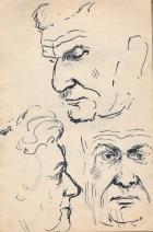 125 pestalozzi sketches - mrs morrison & mr elphick