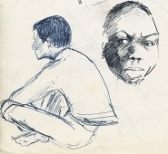 137 pestalozzi sketches - chris the buddhist