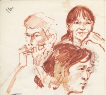140 pestalozzi sketches - tibetans