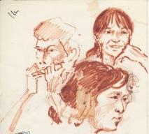140 pestalozzi sketches - tibetans