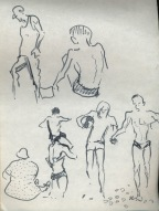 151 pestalozzi sketches - beach at hastings