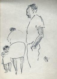 151 pestalozzi sketches - family