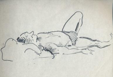 152 pestalozzi sketches - beach