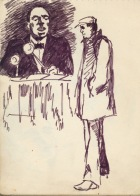 156 pestalozzi sketches - belafonte