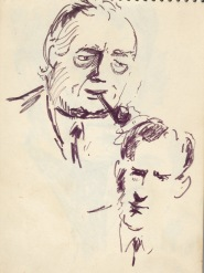 157 pestalozzi sketches - harold wilson