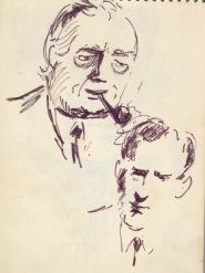 157 pestalozzi sketches - harold wilson