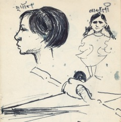 167 pestalozzi sketches - children