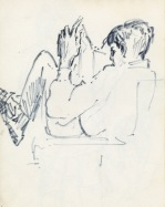 178 pestalozzi sketches - indian boy reading