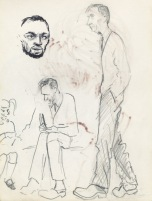 186 pestalozzi sketches - Mr Mountain & daughter