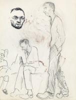 186 pestalozzi sketches - Mr Mountain & daughter