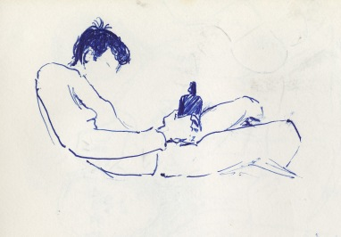 189 pestalozzi sketches - bottle