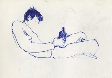 189 pestalozzi sketches - bottle
