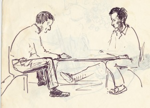 193 pestalozzi sketches - chris and pasang